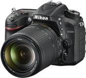 Nikon D7200 + AF-S 18-140 VR - Spiegelreflexcamera  - Zwart