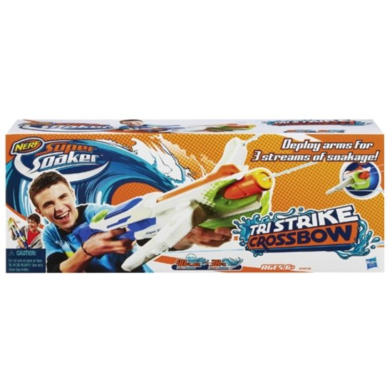Waterpistool Super Soaker - Tri Strike - Crossbow