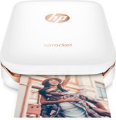 HP Sprocket - Mobiele Fotoprinter - Wit