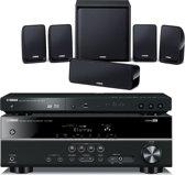 Yamaha BD-PACK 199 Blu-ray speler + Receiver + 5.1 speaker systeem