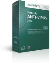 Kaspersky, Anti Virus 2015 RB (1 PC) (Dutch / French)