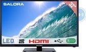 Salora 32LED2605D - Led-tv/dvd-speler - 32 inch - HD-ready - Zwart