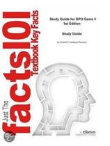 e-Study Guide for: GPU Gems 3 by Hubert Nguyen, ISBN 9780321515261