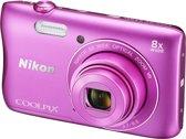 Nikon COOLPIX S3700 - Roze
