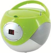 Soundmaster SCD2250GR CD Boombox met Radio Groen