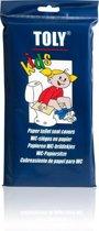 Toly - WC-Brildekjes voor Kinderen - Papier - 30 stuks