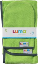 Luma - Commodedoek en Washand - Lime Green