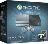 Microsoft Xbox One Halo 5 Limited Edition Console - 1TB - Blauw/Zilver - Xbox One