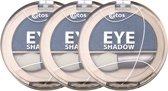 Etos Eyeshadow 018 - Blauw - 3 stuks - Oogschaduw