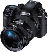 Samsung NX 1 + 16-50mm + 50-150mm - Systeemcamera - Zwart