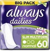 Always Flexistyle Fresh Voordeelpak - 60 - Inlegkruisjes