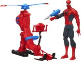 Titan Hero - Spider-Man met Web Copter