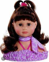 Paola reina Kappop bruin haar