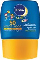 NIVEA Sun Pocket Size Kids - SPF 50+ - 50 ml - Zonnebrandlotion