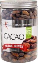 Lucovitaal Super Raw Food Cacao bonen - 450 gram -Voedingssupplementen
