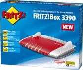 AVM Fritz!Box 3390 - Simultaneous Dual-Band Gigabit Router - 2x 450 Mbps