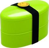 Zak!Designs Smiley Lunchbox - Incl. bestekset - Groen