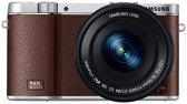 Samsung NX3000 + 16-50 mm Powerzoom - Systeemcamera - Bruin