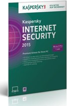 Kaspersky, Internet Security 2015 RB (3 PC) (German)