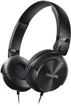 Philips SHL3060BK - On-ear koptelefoon - Zwart