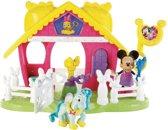 Fisher-Price Minnie's Spring & Speel Ponystal - Speelfigurenset