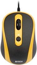 V-Track padless mouse, black+yellow