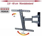 VCM TV-muurbeugel WS 100 slim, draai en kantelbaar voor 26