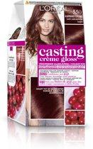 L'Oréal Paris Casting Creme Gloss - 550 Licht Mahoniebruin - Crèmekleuring