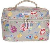 Oilily Classic Ivy Square Beauty Case Caffe Latte