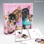 Create your Topmodel doggy kleurboek 3 hondjes