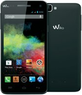 Wiko smartphone Rainbow - Zwart