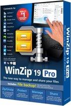 WinZip Pro - (versie 19 ) - doos - 1 gebruiker - DVD - Win - meertalig