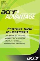 Acer garantie: AcerAdvantage New Edition garantie uitbreiding naar 3 years + ongevallenverzekering