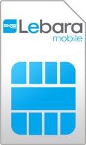 Lebara Online Simkaart + 1GB data