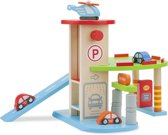 Parkeergarage met etage