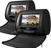 Xtrons HD705 DVD Hoofdsteun met 7 inch scherm