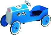 Goki Trapauto grand racer blauw