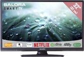 Salora 32LED9102CS - Led-tv - 32 inch - HD-ready - Smart tv - Zwart