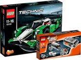 LEGO Technic Voordeelbundel - 24-uur Racewagen 42039+ Power Functies Motorset 8293