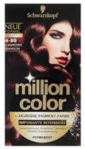 Schwarzkopf Million Color 4-89 - Haarkleuring
