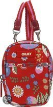 Oilily Winter Blossom Extra Klein Pouch Scarlett
