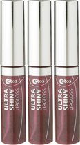 Etos Ultra Shiny 013 - Rood - 3 stuks - Lipgloss