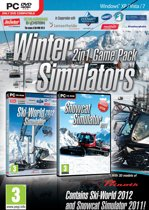 Winter Simulators  (Skiworld  Simulator 2012 + Snowcat Simulator 2011)