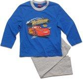 Disney Cars Jongens Pyjama - blauw;grijs - Maat 116