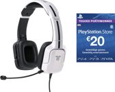 Tritton Kunai Wired Stereo Gaming Headset - Wit (PS3 + PS4) + €20 PSN Voucher Card (Nederlands)