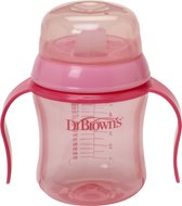 Dr. Brown's - Trainingsbeker zachte tuit 170 ml - Roze