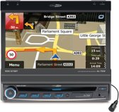 Caliber RDN573BT - 1 Din autoradio met navigatie, USB/SD en CD/DVD speler en 7inch TFT-LCD scherm - Zwart