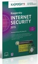 Kaspersky, Internet Security 2015 RB (1 PC) (German)