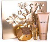 Paco Rabanne Lady Million (EDP80+BL100+TS15)