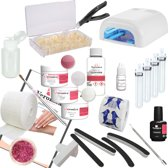 Veronica NAIL-PRODUCTS French manicure Gelnagels starterspakket, starter set MANICURE, compleet